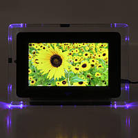 7-дюймовый TFT-LCD цифровой фото рамка фильмов MP3 плеер MP4 флэш света