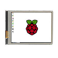 Raspberry Pi 2,8 HD 640x480 Сенсорный экран Дисплей Для Raspberry Pi 3 Model B / Pi Zero W / Pi Zero