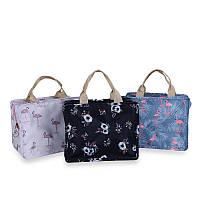Creative Flamingo Print Handheld Insulation Pack Lunch Сумка Студенческий ужин Сумка Pack Пикник Diner Flower Foil Food Warm Сумка