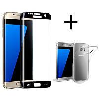 Bakeey™3DCurvedEdgeс закаленным стеклом с прозрачным TPU Чехол для Samsung GalaxyS7Edge