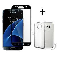 Bakeey™3DCurvedEdgeс закаленным стеклом с прозрачным TPU Чехол для Samsung GalaxyS7