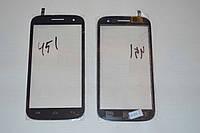 Оригинальный тачскрин / сенсор (сенсорное стекло) для Fly IQ451 Vista (черный цвет)