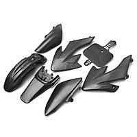 Пластиковый корпус для углеродного волокна Набор Для Honda XR50 CRF 50 125cc Pit Bike