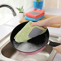 Удобная ультра-многофункциональная посуда удобная посуда Полотенце Double Thick and Hangingable