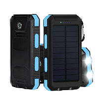 10000mAh Двойной USB Солнечная Энергия DIY Банк мощности Батарея Чехол С Светодиодный Для iPhone X 8 Oneplus5