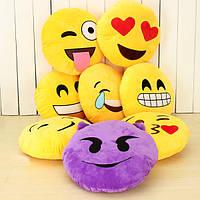 Emoji смайлик Подушка эмоция Подушка Мягкая игрушка