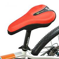Велосипедное седло велосипеда подушка сиденья обложка 3D гель колодка светоотражающие хвост