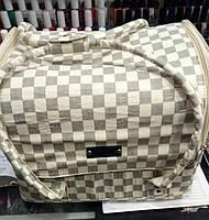 Чемодан, маникюрная сумка для мастера, кож.зам, клетка