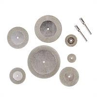 7 шт алмазного шлифования нарезать дремелем с отрезными дисками для вращающихся инструментов