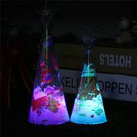 РождественскаявечеринкаДомашнееукрашение3DMini цветful Светодиодный Лампа Дерево для детей Дети Игрушки для подарков