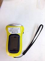 Фонарик LEMANSO 3 LED / LMF37 + солнечная батарея жёлтый