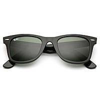 Солнцезащитные Очки RAY BAN RB 2140 Wayfarer комплект, стекло, копия, фото 1