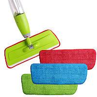 Микрофибра спрей MOP Замена головных колодок Ткань для чистки полотна для вставки для замены ткани