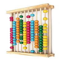 Baby детские игрушки деревянные счеты вычислений калькулятор инструмент обучения математике