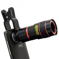 Apexel Universal 8X Zoom Telescope Clip Объектив для планшета для мобильных телефонов - 1TopShop