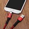 USAMS SJ171 3A Type-C 3.0 Зарядные данные Nylon Плетеный кабель 1,2 м/3,9 фута для Samsung S8 Xiaomi mi5 mi6, фото 3
