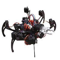 6 ног 20 ДОФ с Arduino робот паук с захватом металлический каркас арматуры