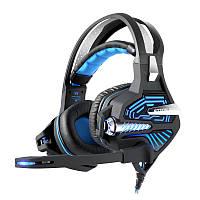 Kotion Каждый GS100Z 7.1 Surround Gaming Headset Headphone с Светодиодный Микрофон Провод Управление