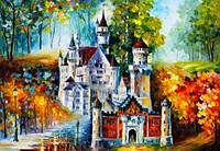 """Картина по номерам """"Осенний Нойшванштайн"""" GX7622 (40*50 см)"""