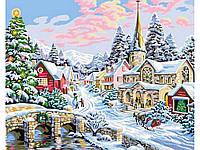 """Картина по номерам """"Зима-сказка"""" G231 (40*50 см)"""