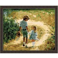 """Картина по номерам """"Загородная прогулка"""" G027 (40*50 см)"""