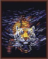 """Картина по номерам """"Ночное плавание"""" G158 (40*50 см)"""