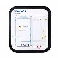 Магнитный Болт Keeper Memory Chart Mat для iPhone 6 6s Plus 7 7 Plus Teardown Repair Guide Pad Phone Repair Набор Набор