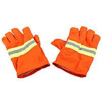 Огнезащита Перчатки Защитная крышка для защиты от огня Водонепроницаемы Огнезащитная нескользящая противопожарная защита от огня Перчат