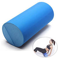 30x15см Ева йога пилатес массаж фитнес-терапия пены ролика сетки тренажерный зал