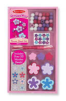 """Деревянный набор бусинок для творчества """"Цветы"""" / Flower Bead Set ТМ Melissa & Doug MD4176"""