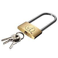 40мм чемодан шкафчик элементов латунная удлиненная дужка навесной замок ключи