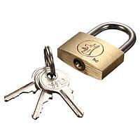 25мм чемодан шкафчик элементов латунная удлиненная дужка навесной замок ключи