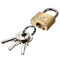 20мм чемодан шкафчик элементов латунная удлиненная дужка навесной замок ключи