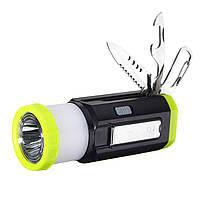 Hiking Emergency EDC Набор LED Кемпинг Фонарь гаджета многофункциональный ручной фонарик факел