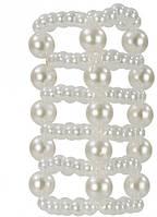 California Exotic Novelties California Exotic - Насадка на пенис Pearl Stroker Beads - Large (T850218) California Exotic - Насадка на пенис Pearl