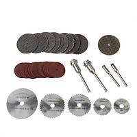 39 шт смола для резки металла рабочих колес пакет дисков для дремеля роторный инструмент