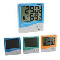 ANENG HTC-1 Крытый номер LCD Электронный измеритель влажности температуры Digital Термометр Гигрометр Weather Alarm Часы