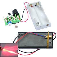 DIY Инфракрасный Лазер Направляющий модуль защиты от угона охранной сигнализации Набор