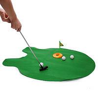 Горшок паттер туалет гольф игры мини гольф игрушек