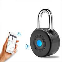 Bluetooth Smart Замок Анти Theft Alarm Замок для езды на велосипеде мотоцикл Дверь с контролем APP