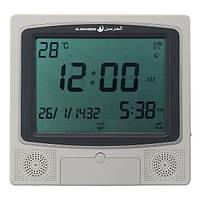 Digital Muslim Azan Wall Часы Pray Alarm Часы Автоматическая подача температуры Fajr Qibla Дисплей