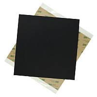 220 * 220 * 0.8 мм Черный матовый полиэфиримид PEI-лист с клеем для 3D-принтера