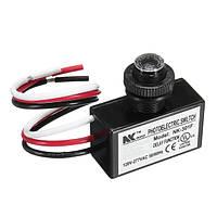 AC 80-277V Фотоэлектрический выключатель Фотоэлемент Сумерки к кнопке «Рассвет» Управление фотоомолекулярным переключателем для скрытого мо