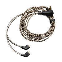 Оригинал KZ HIFI Сменный кабель Кабель для замены серебристого серебра для KZ ES3 ZS6 ZS5 ZST Наушник
