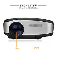 Портативный мини  LED-проектор Cheerlux С6 Яркость 1200 люмен