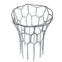 Баскетбольную сетку спортивного обруча металлические цепи подходят официальные диски 12 петли сталь