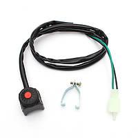 Универсальный убить выключатель стоп кнопка звукового сигнала для мотоцикла яму квадроцикл
