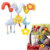 Soft Animal Hanging Bed Safety Seat Plush Кукла Мобильный кукольный домик для новобрачных Cute Toy