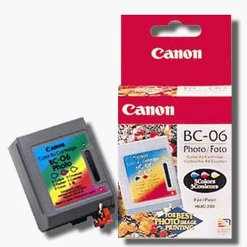 Картриджи Canon  BC-06 foto для Canon BJC-210, 240, 250, 1000
