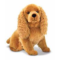 Мягкая плюшевая игрушка Кокер-спаниель / Cocker Spaniel Dog Giant Stuffed Animal ТМ Melissa & Doug MD4856
